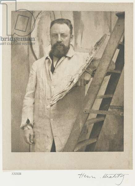 Henri Matisse, 1913 (platinum print)