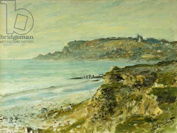 The Cliffs at Sainte-Adresse; La Falaise de Saint Adresse, 1873 (oil on canvas)