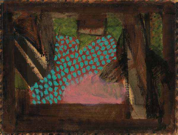 After Dinner at Smith Square, 1980-1 (oil on board, framed)