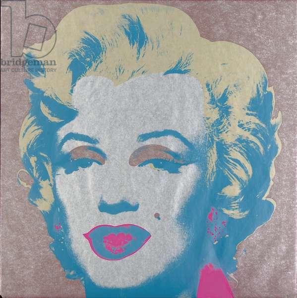 Marilyn Monroe (Marilyn), 1967 (screenprint) (see also 930711-20)