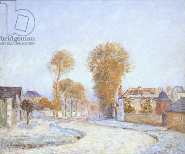 First Frost, 1876 (oil on canvas)