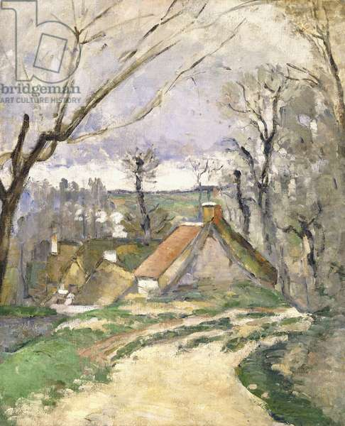 The Cottages of Auvers, 1872-73 (oil on canvas)