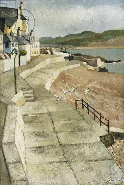 Belle Cliff, Lyme Regis, 1932 (oil on canvas)