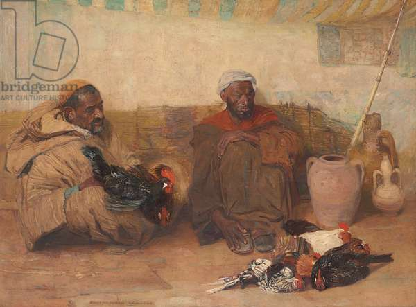 Two Men of Tangiers, 1908 (oil on canvas)