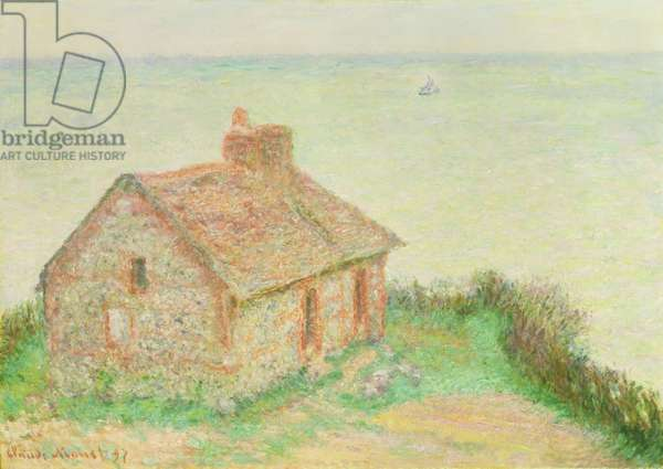 The House at Douanier, Pink Effect, 1897 (oil on canvas)