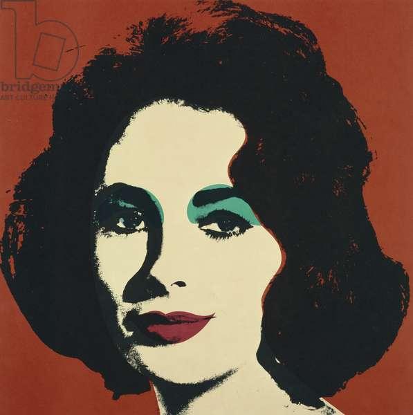 Liz, 1964 (offset colour litho)