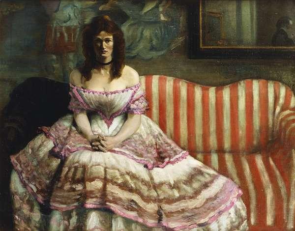 Porphyria, (oil on canvas)