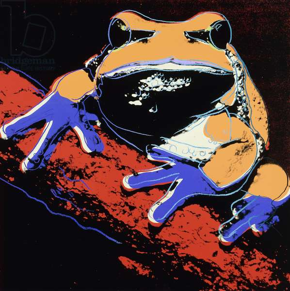 Endangered Species, 1983 (screenprint in colours)