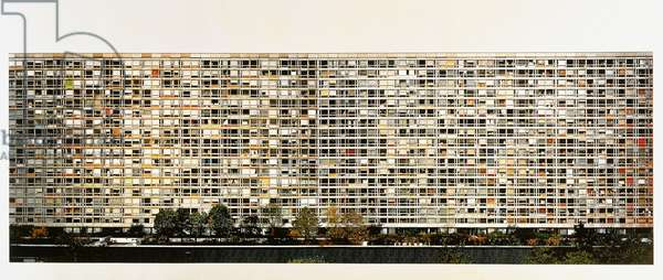 Paris, Montparnasse, 1993 (colour coupler print)