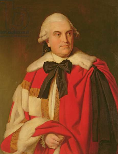 Portrait of George William, 6th Earl of Coventry in peers' robes