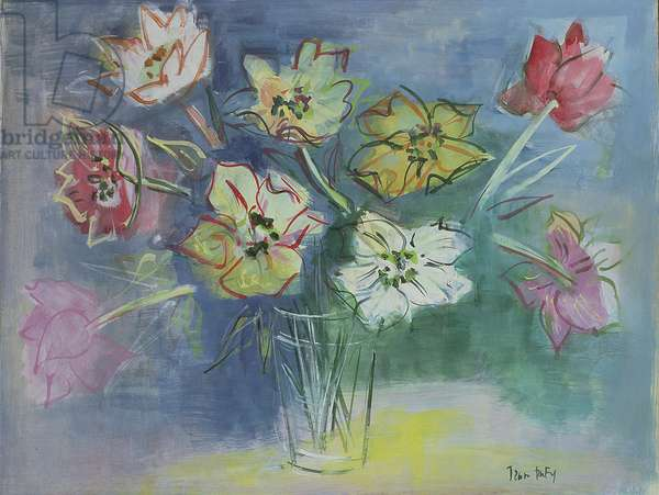 Vase of Flowers (w/c on paper)