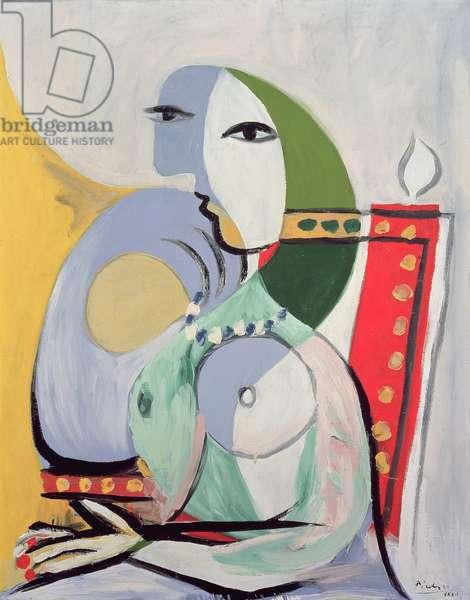 Woman in an Armchair, 1932 (oil on canvas)