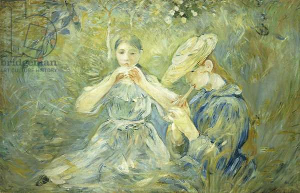 Le Flageolet, 1890 (oil on canvas)