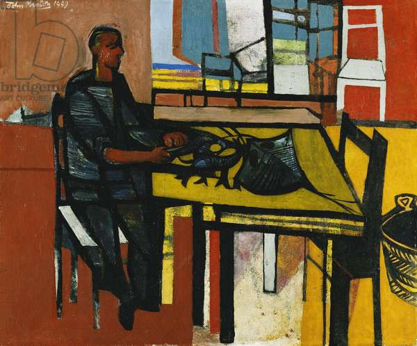The Corsican Fisherman, 1949 (oil on canvas)
