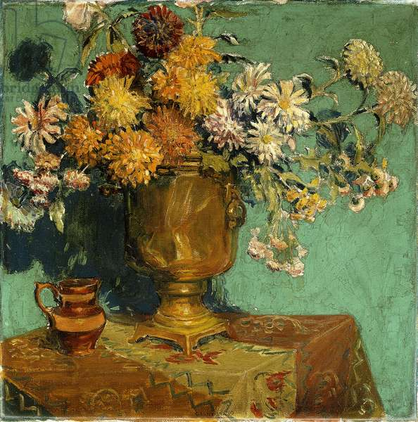 Flowers for Alice, 1928 (oil on canvas)