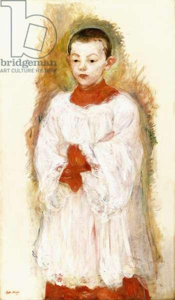 Choirboy, 1894 (oil on canvas)