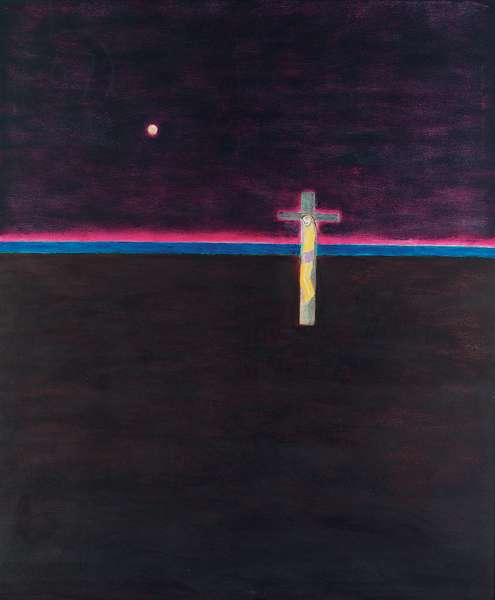 Crucifixion II, 1987-89 (oil on canvas)