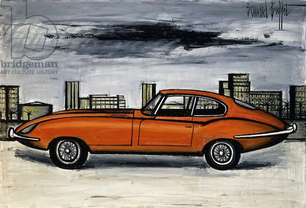Jaguar Model 1975; Jaguar Modele 1975, 1984 (oil on canvas)
