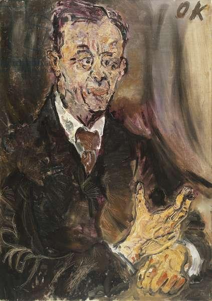 Portrait Dr, 1910 (oil on canvas)