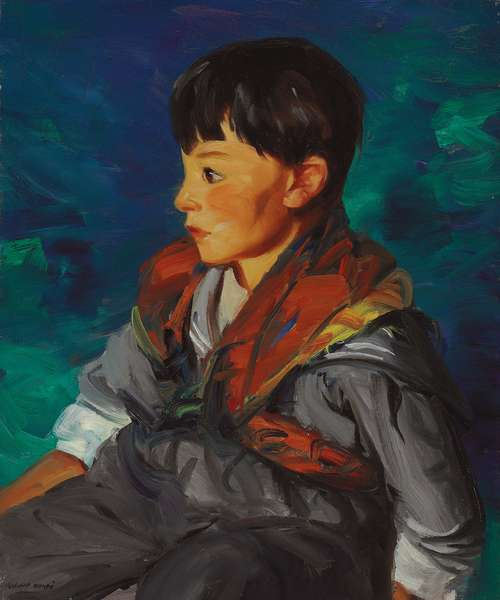 Nelson Cooper, Gypsy Boy, 1915 (oil on canvas)