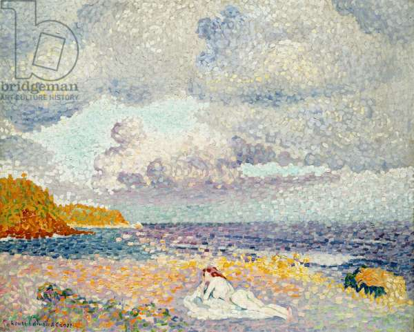 Before the Thunderstorm (The Bather) 1907-08 (oil on canvas)