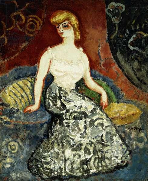 La Parisienne de Montmartre, c.1907 (oil on panel)