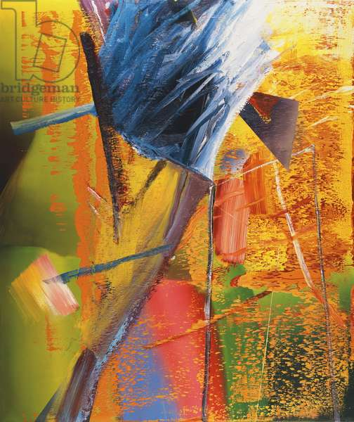 Hedge; Hecke, 1968 (oil on canvas)