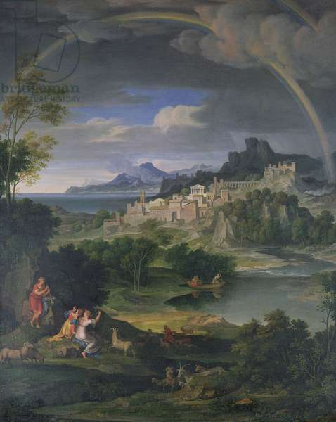 Landscape with Rainbow