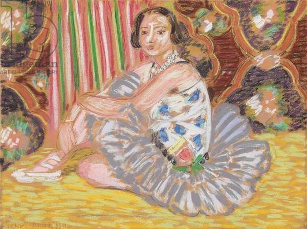 The Dancer; La Danseuse, 1927 (pastel on paper)