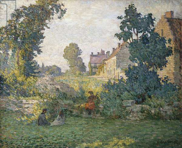 Scene Champetre, 1894 (oil on canvas)