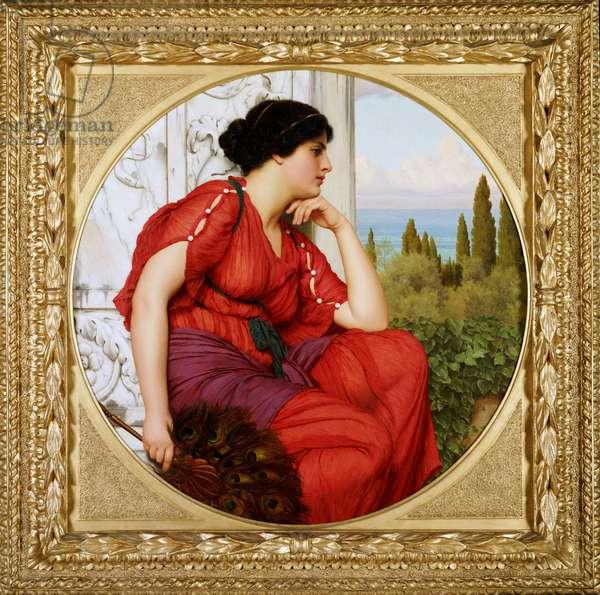 Reverie, 1910 (oil on canvas)