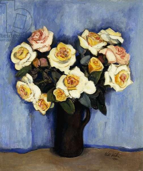 Yellow Roses, 1934 (oil on canvas)