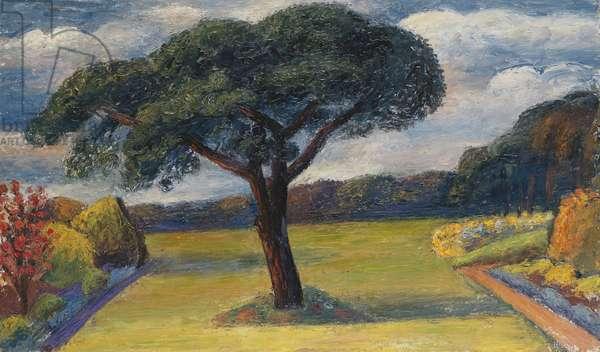 Hautbois, Norfolk, c.1936 (oil on canvas)