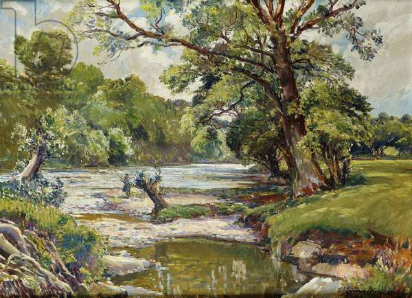 The Joy of a June Day, 1947 (oil on canvas)