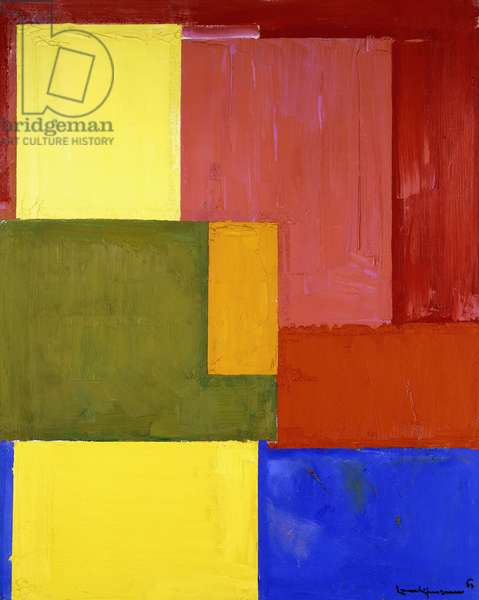 Gloria in Excelsis, 1963 (oil on canvas)