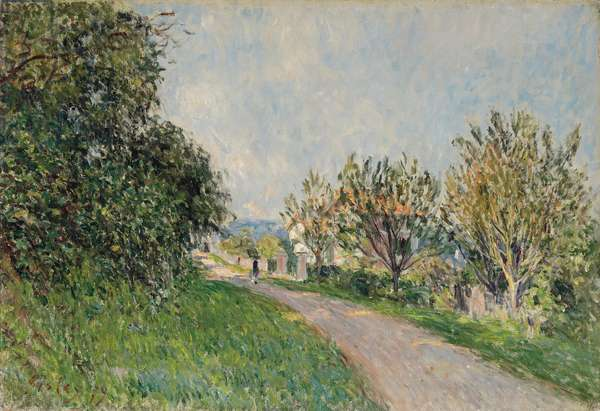 Path Near Sevres, 1879 (oil on canvas)