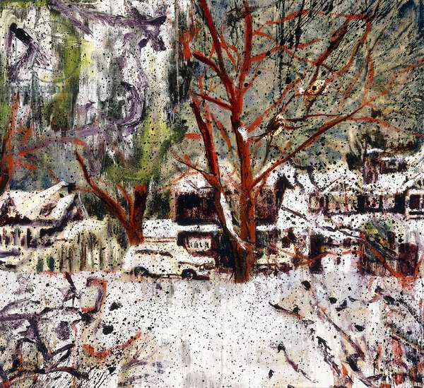 Bob's House, 1994 (oil on canvas)