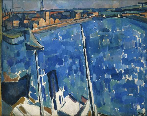 The Harbour; Le Havre, c.1906-7 (oil on canvas)