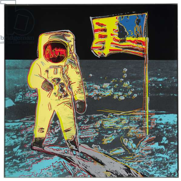 Moonwalk, 1987 (screenprint)