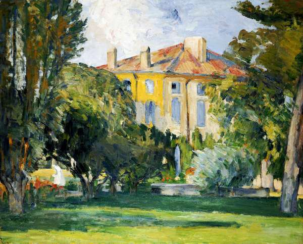 The House at Jas de Bouffan, 1882-85 (oil on canvas)