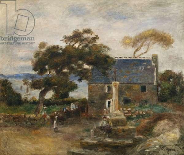 Treboul, near Douardenez, Brittany; Treboul, pres de Douardenez, Bretagne, 1895 (oil on canvas)