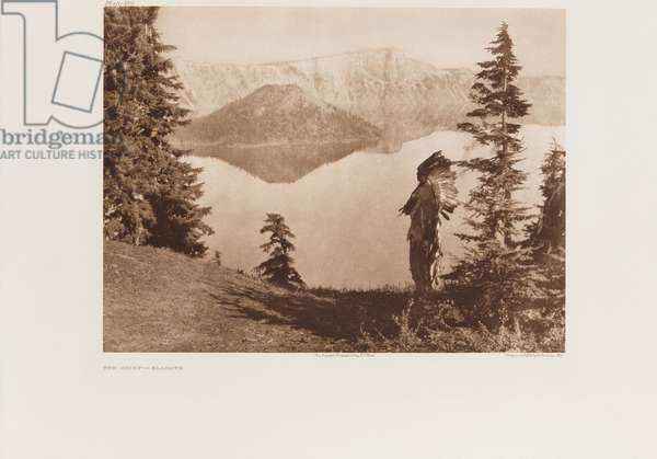 The Chief-Klamath, plate from 'The North American indian, Portfolio 2, 1899-1910', 1907-30 (large format photogravure)