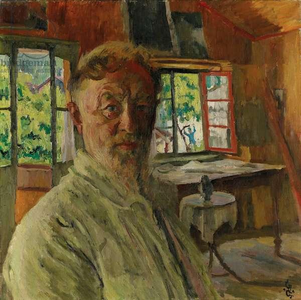 Self portrait, 1931 (oil on canvas)