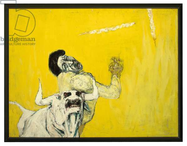 Bullfight (oil on canvas)