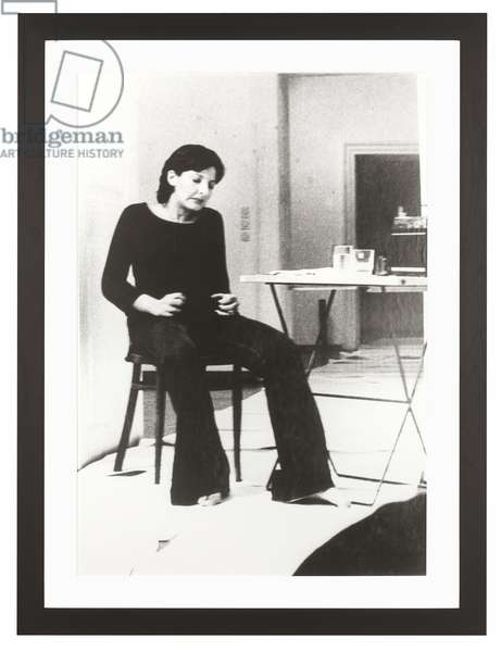 Rhythm 2, from 'The Complete Performances 1973-1975', performed 1974, published 1994 (b/w photo)