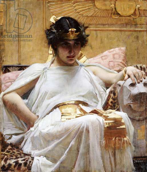 Cleopatra, c.1887 (oil on canvas)