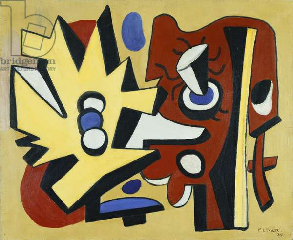 Composition, 1939 (oil on canvas)