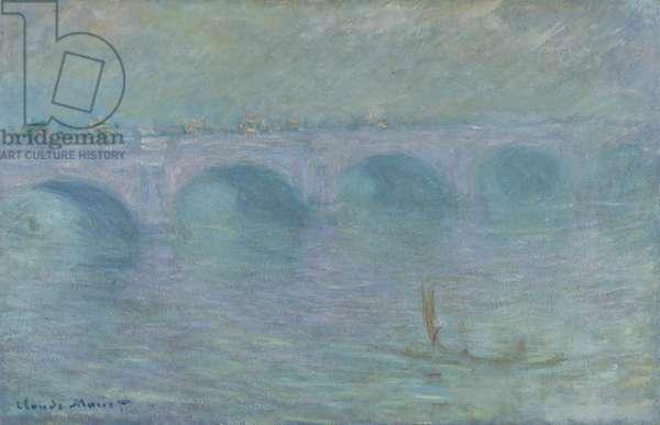 Waterloo Bridge in the Fog, 1903 (oil on canvas)