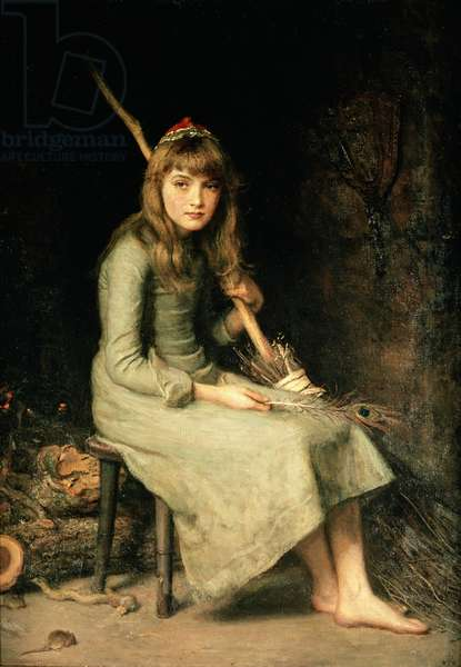 Cinderella, 1881 (oil on canvas)