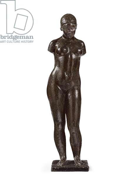 Study for Harmony; Etude pour l'Harmonie, 1940-1943 (bronze with dark brown and green patina)